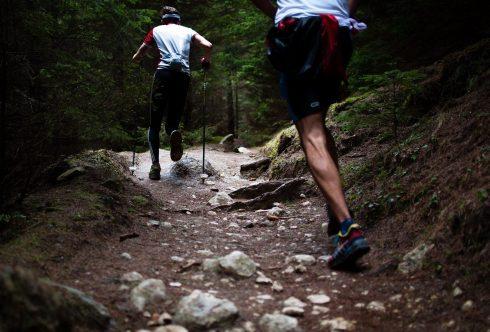 Trail Running Men Trail Ultra Trail Run Fitness
