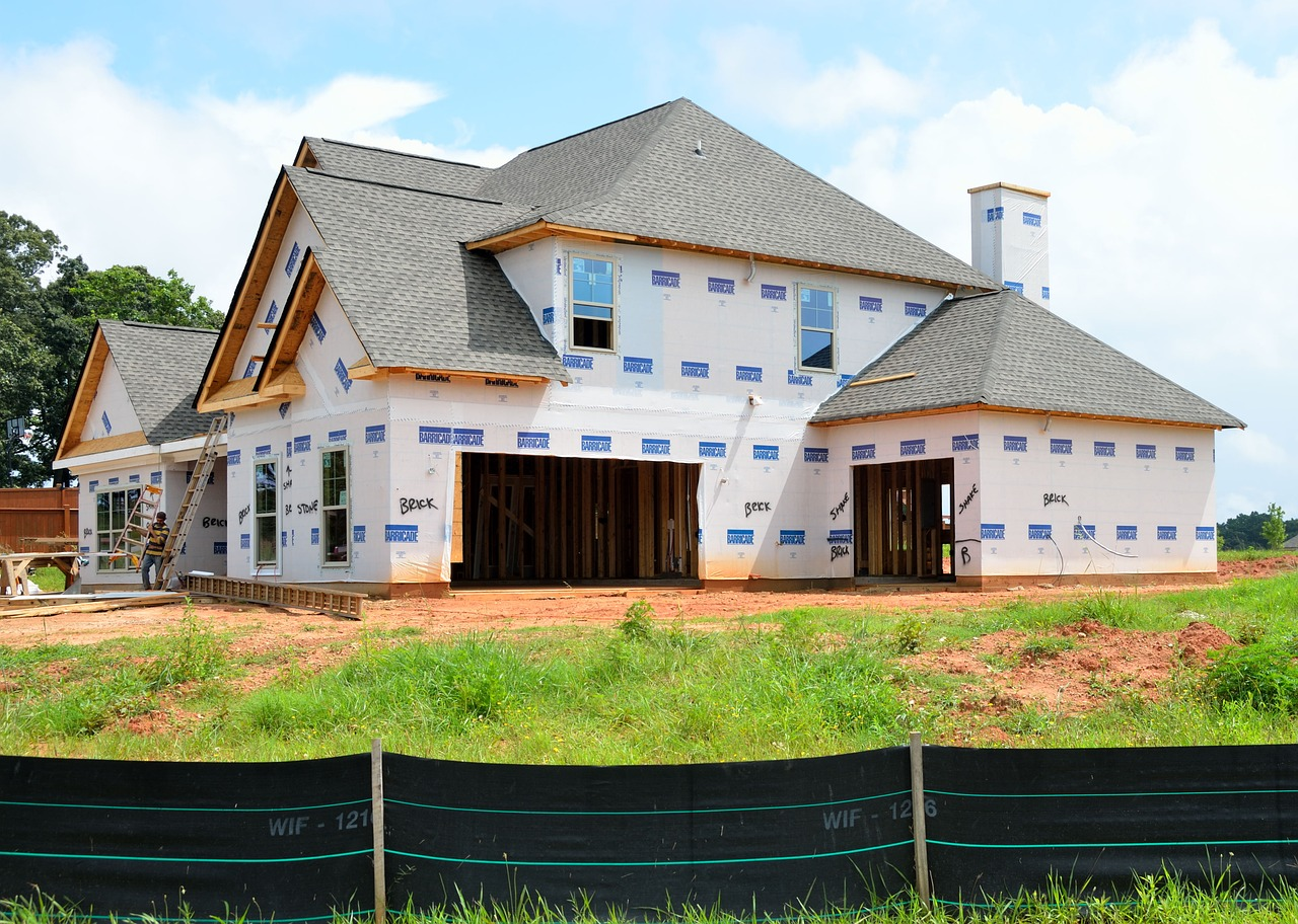 New Home, Construction, Build, Architecture, IndustryNew Home Construction Build Architecture Industry