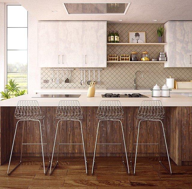 Architecture Interior Furniture Kitchen 3d